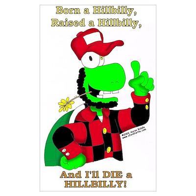 Born A Hillbilly Poster