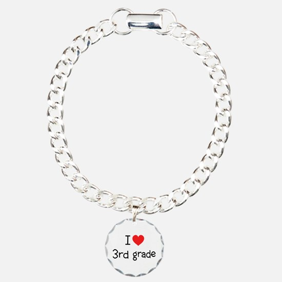 I Heart 3rd Grade: Charm Bracelet, One Charm