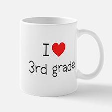 I Heart 3rd Grade: Mug