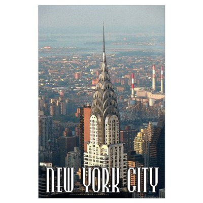 "New York City ""Watercolor"" Poster"