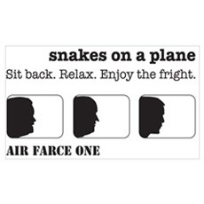 Air Farce One: Snakes on a Plane Poster