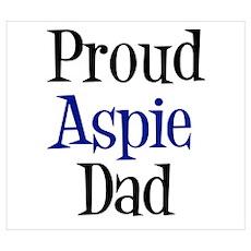 Proud Aspie Dad Poster