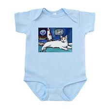 TURKISH VAN cat senses smilin Infant Creeper