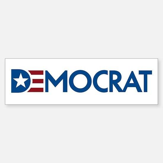 Democrat Sticker (Bumper)