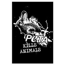 PeTA Kills Animals Poster