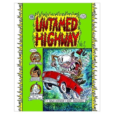 Untamed Highway's Issue Two Cover - 16 x 20 Poster