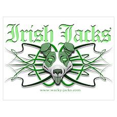 Irish Jack Tribal Poster