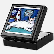 TURKISH VAN cat senses smilin Keepsake Box