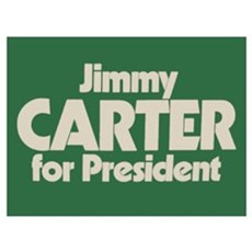 Carter for President Canvas Art