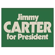 Carter for President Poster