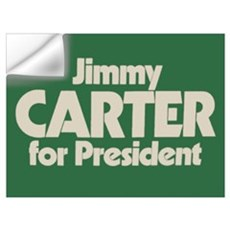 Carter for President Wall Decal