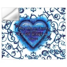 Edward's Heart-Twilight Wall Decal