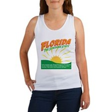 Florida The Sunshine State Women's Tank Top