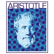 Psychedelic Aristotle Poster