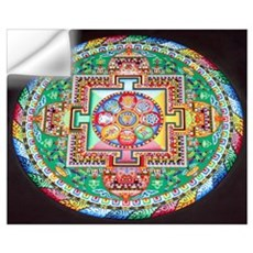 Sand Mandala Wall Decal