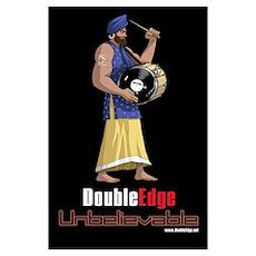 DoubleEdge Unbelievable Poster