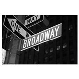 Broadway Framed Prints