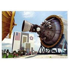 Kennedy Space Center Poster
