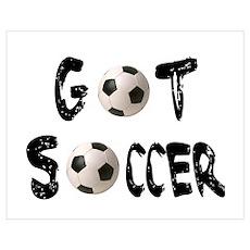 Got Soccer Poster