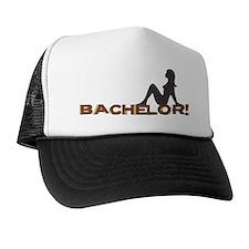 Bachelor Female Silhouette Trucker Hat