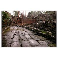 Angkor Vat Poster