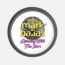 Mrs. Mark Ballas Dancing With The Stars Wall Clock
