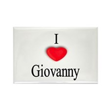 Giovanny Rectangle Magnet