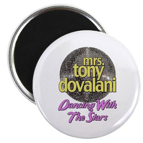 "Mrs. Tony Dovalani Dancing With The Stars 2.25"" Ma"