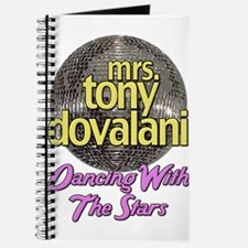 Mrs. Tony Dovalani Dancing With The Stars Journal