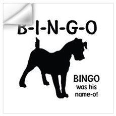 B-I-N-G-O Wall Decal