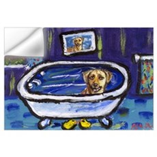 Rhodesian Ridgeback bath Wall Decal