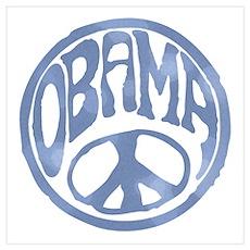 Obama - 60's Stamp Poster
