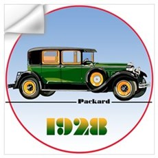 The 1928 Packard Wall Decal