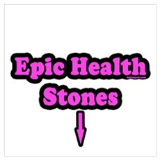 Epic Health Stones Framed Print
