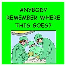 funny surgeon jokes Poster