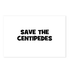 Save The Centipedes Postcards (Package of 8)