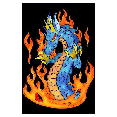 Dragon Fire Poster