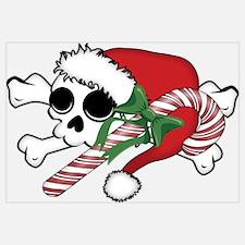 Cute Santa Skull
