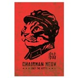 Chairman meow Wrapped Canvas Art