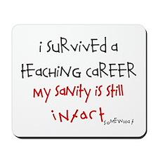 Retired Teacher IV Mousepad