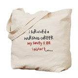 Retired nurse Totes & Shopping Bags