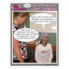Framed BC WARRIOR Comic Strip Poster