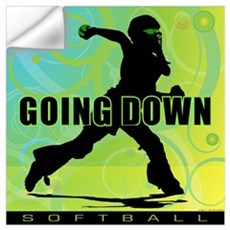 2011 Softball 27 Wall Decal