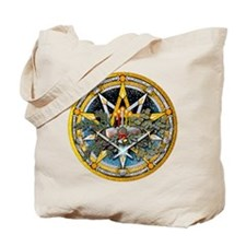 Yule Pentacle Tote Bag