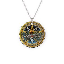 Yule Pentacle Necklace