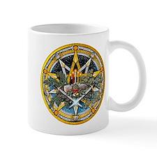 Yule Pentacle Mug