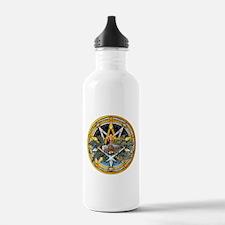 Yule Pentacle Water Bottle