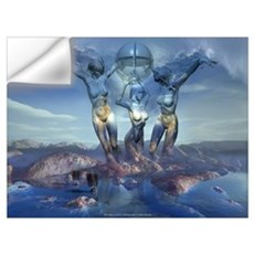 The Three Graces: Wall Decal