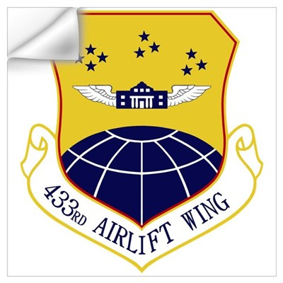 433rd AW Wall Decal