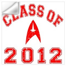 Class Of 2012 Trekkie Wall Decal